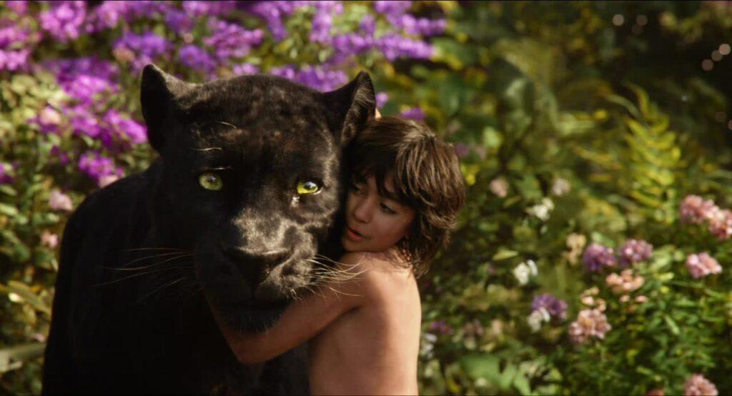 The Jungle Book 2016 Mowgli Bagheera