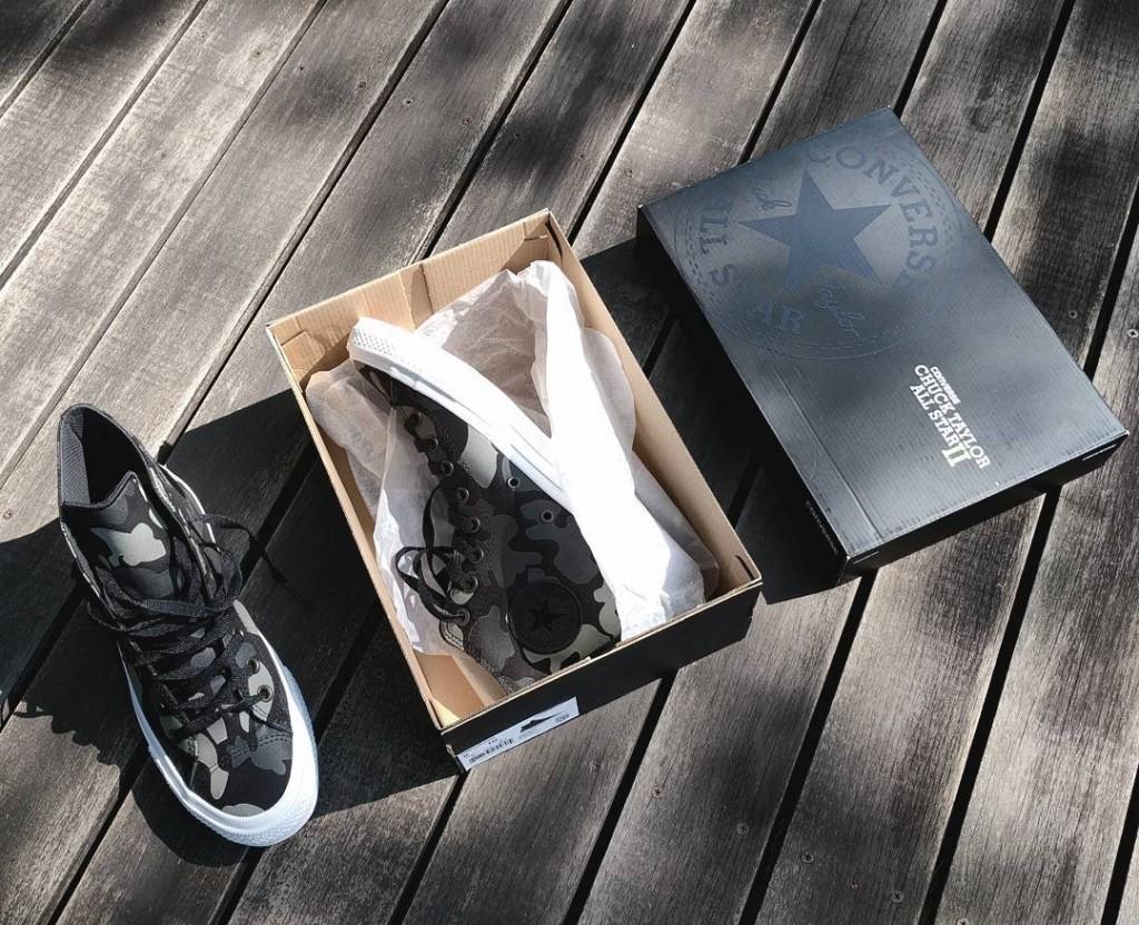 Converse Reflective Camo Chuck II sneakers