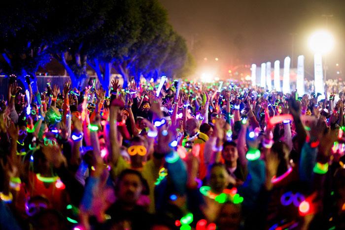 Electric Run Glow Sticks