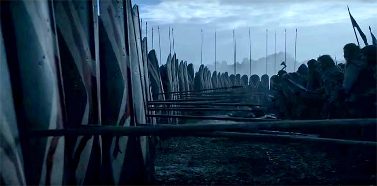 Game of Thrones Battle Scene