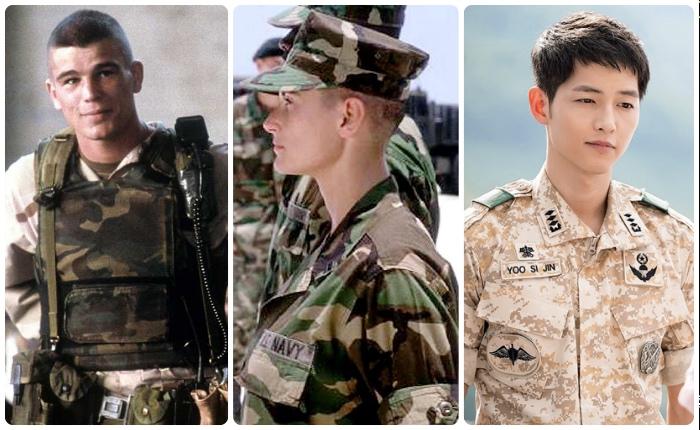 Josh Hartnett Demi Moore Song Joong Ki Camouflage