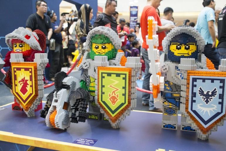 Lego nexo knights roadshow at mid valley megamall hype my