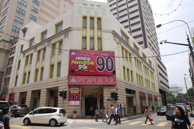 Popular Bookstore Petaling Street