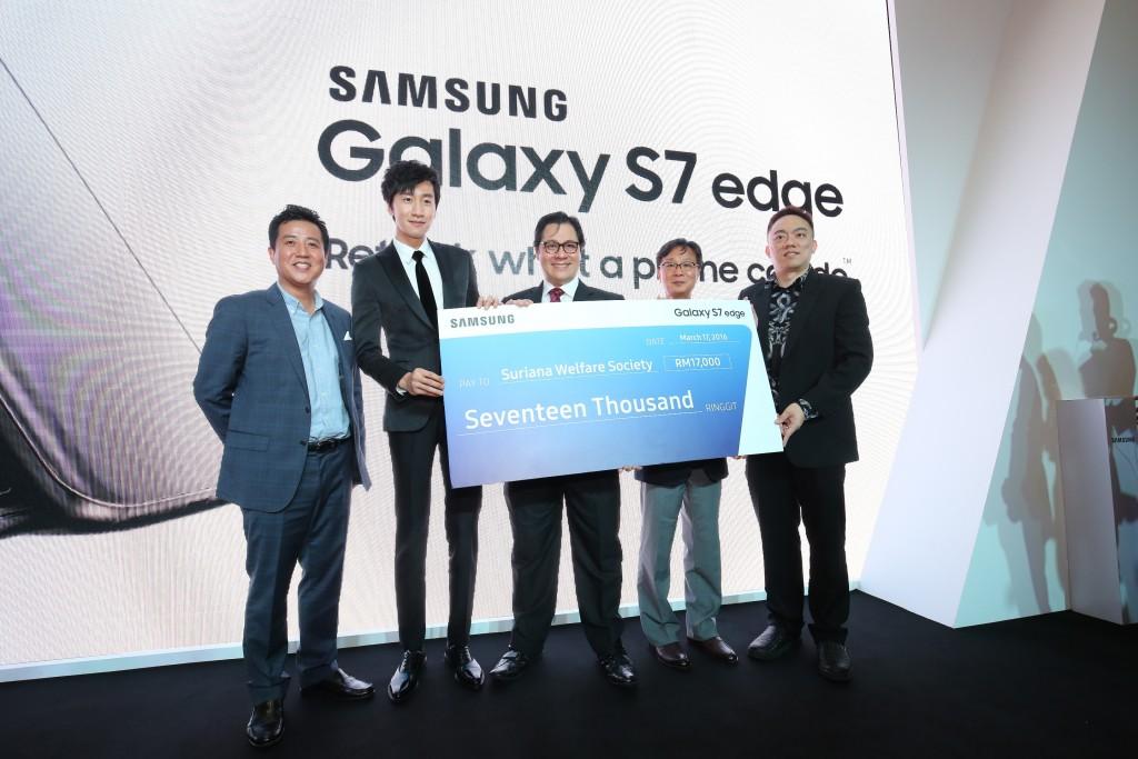 Samsung Galaxy S7 edge Launch KLCC