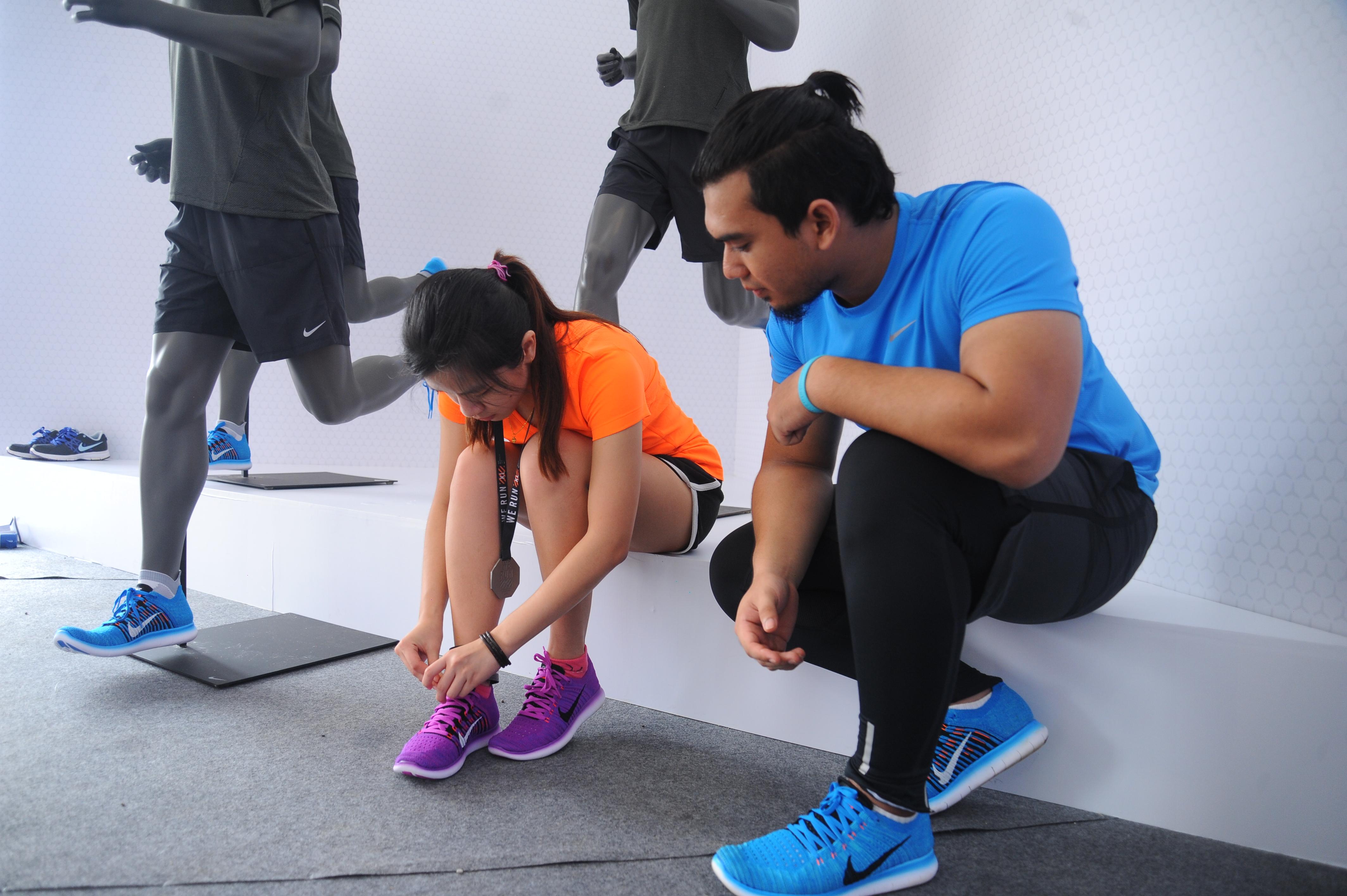 Nike Flyknit Free Run 2016