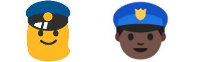 Google Android Policeman Emoji