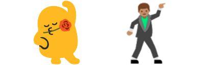 Google Dancer Emoji