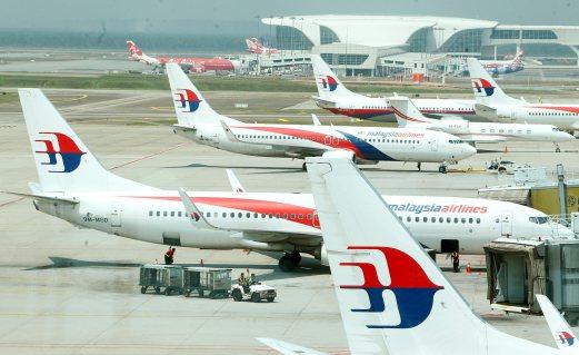 SEPANG 31 MARCH 2016. (FOR ARCHIVE) Pesawat Malaysia Airlines di Lapangan Terbang Antarabangsa Kuala Lumpur. (KLIA). NSTP/AHMAD IRHAM MOHD NOOR.