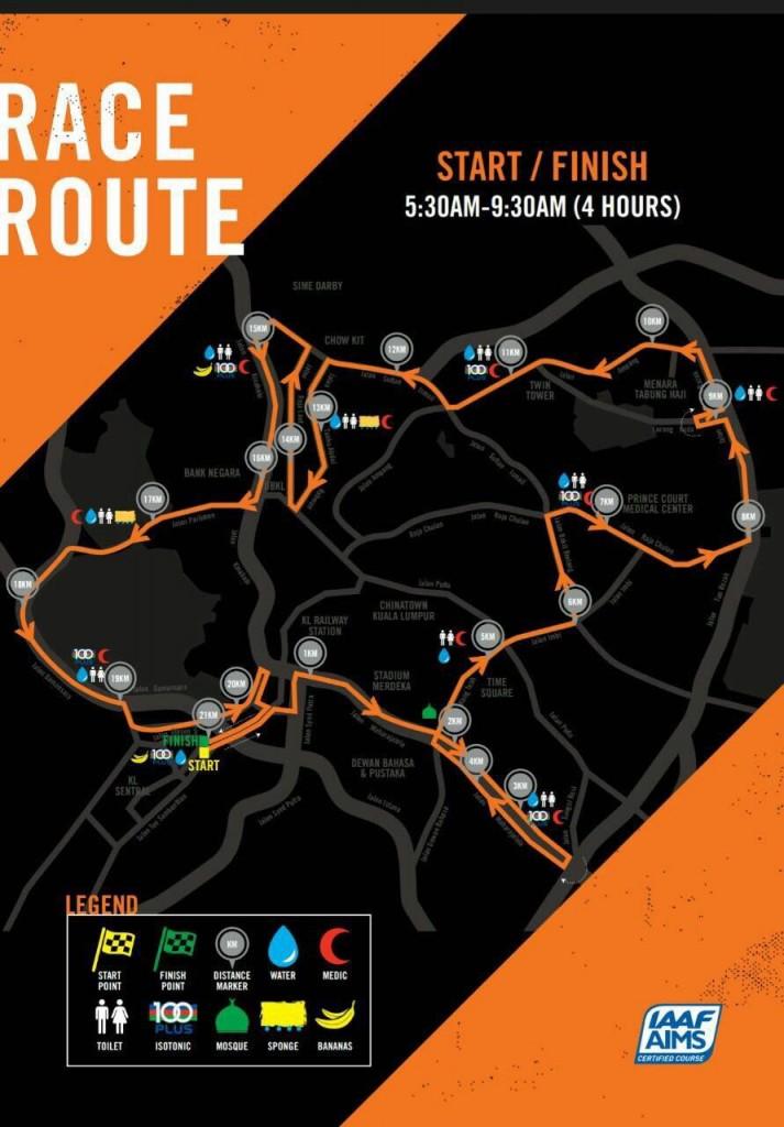 Nike WRKL Race Route 2016