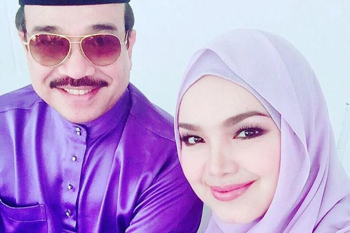 Siti Nurhaliza And Husband