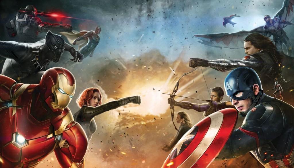 Team Cap Team Iron Man