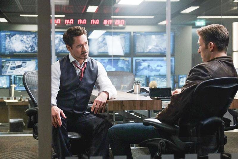 tony stark office. Tony Stark Steve Rogers Civil War Office Y