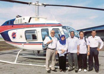 From left: Asmuni Abdullah, Datuk Noriah, Datuk Dr. Sundaran, Datuk Wan Abdullah, and Captain Rex Rudolph, Source: NST