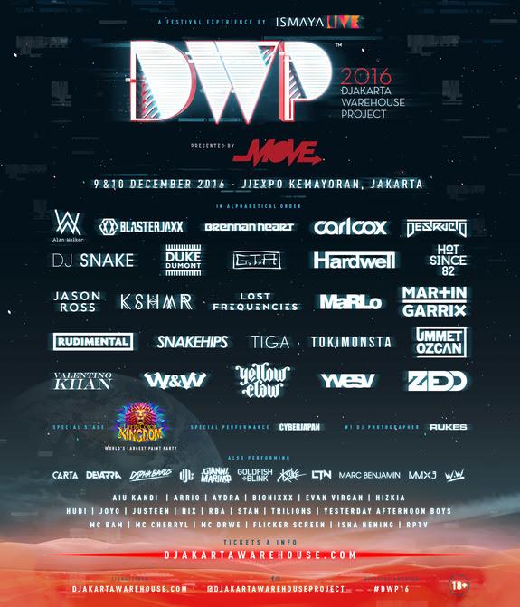 DWP 2016 Final Line Up