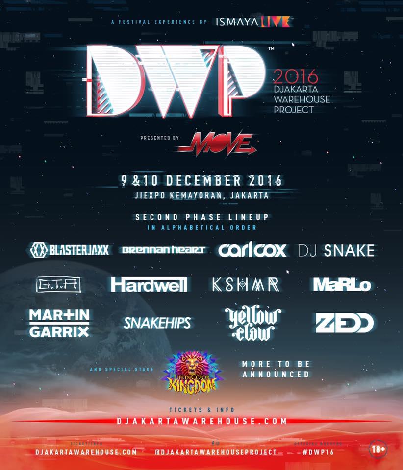 DWP 2016 Line-Up