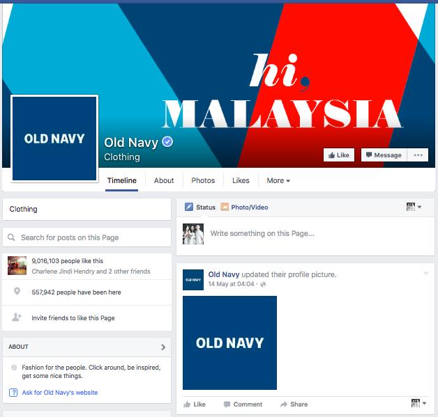 """""""hi, MALAYSIA"""" (Source: facebook.com/oldnavymy)"""