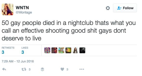 Orlando Shooting Wontage Twitter