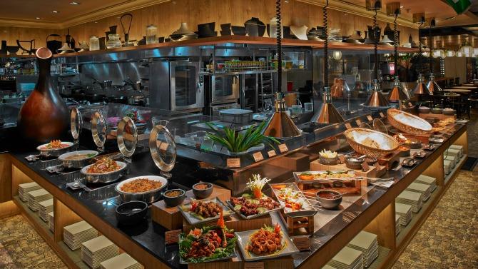 halal buffet The Asian Parent