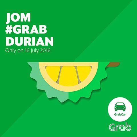 #GrabDurian