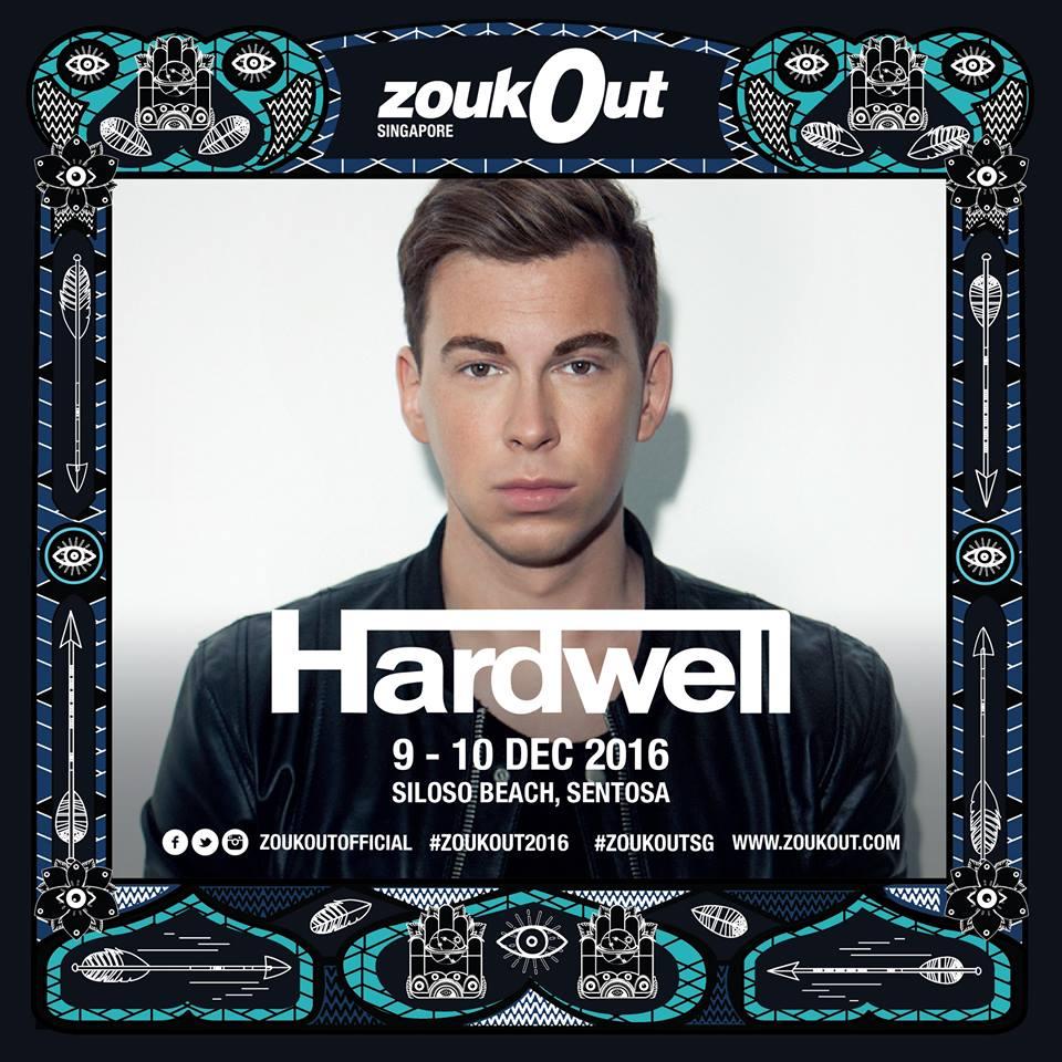 Hardwell ZoukOut 2016