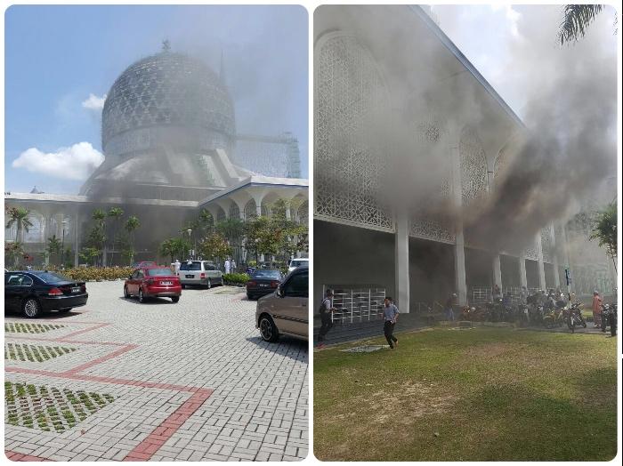 Masjid Shah Alam Fire