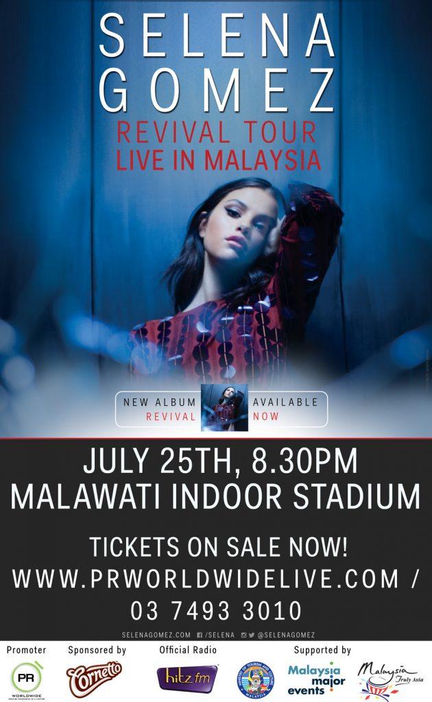 Selena Gomez Revival Tour Malaysia