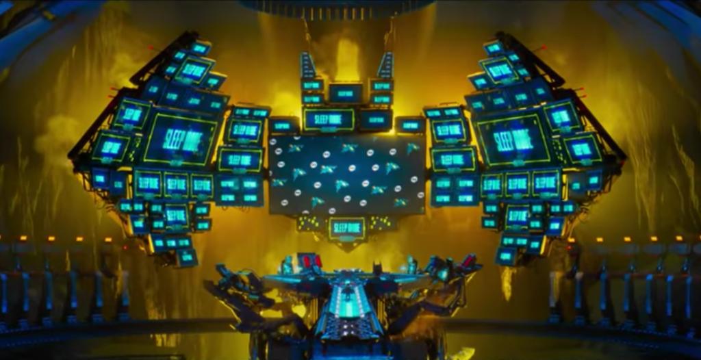 The LEGO Batman Movie Batcave
