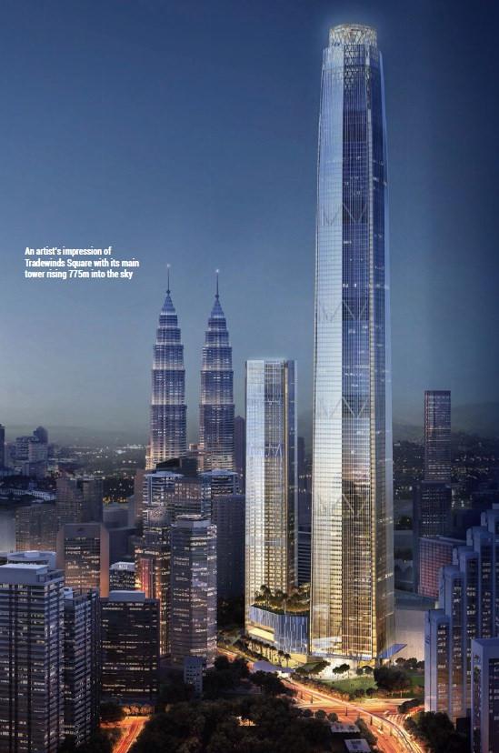 Tradewinds Square Kuala Lumpur