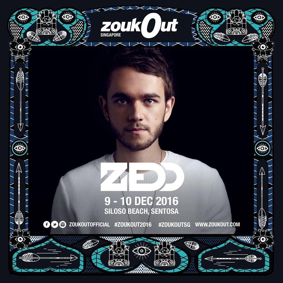 Zedd ZoukOut 2016