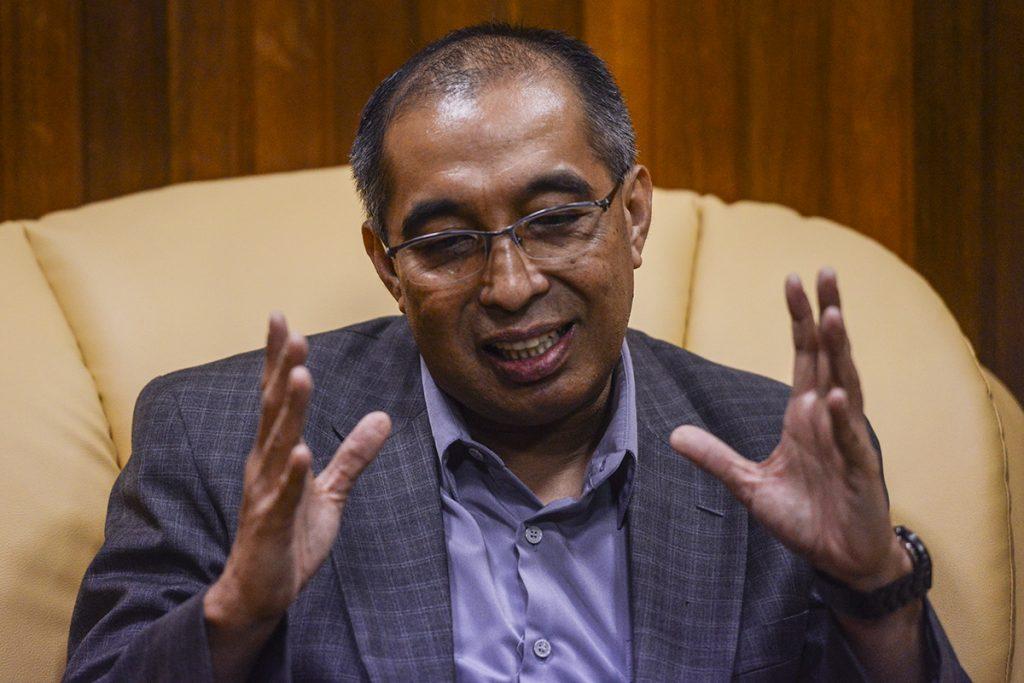 Datuk Seri Dr Salleh Said Keruak. Source: Kuala Lumpur Post