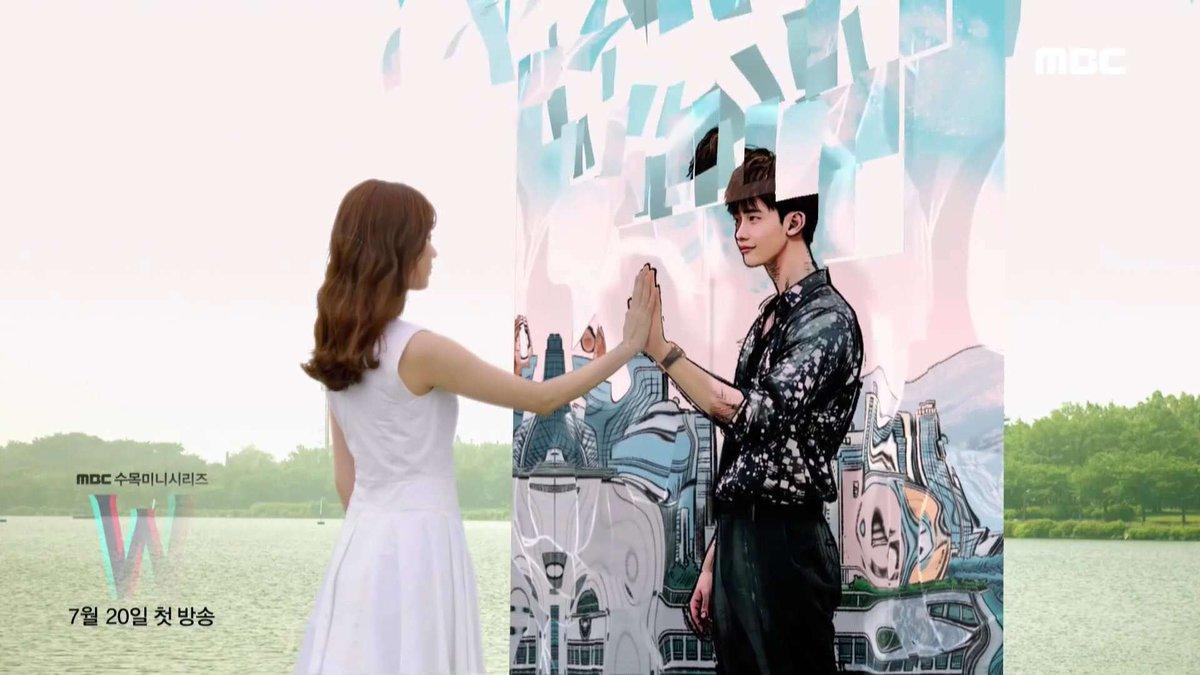 W Two Worlds Korean Drama Hype Malaysia