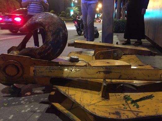Jalan Raja Chulan Crane Accident
