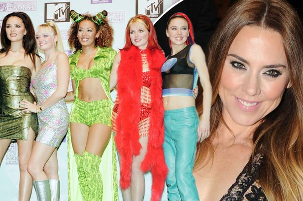 MEL C SPICE GIRLS liverpool echo