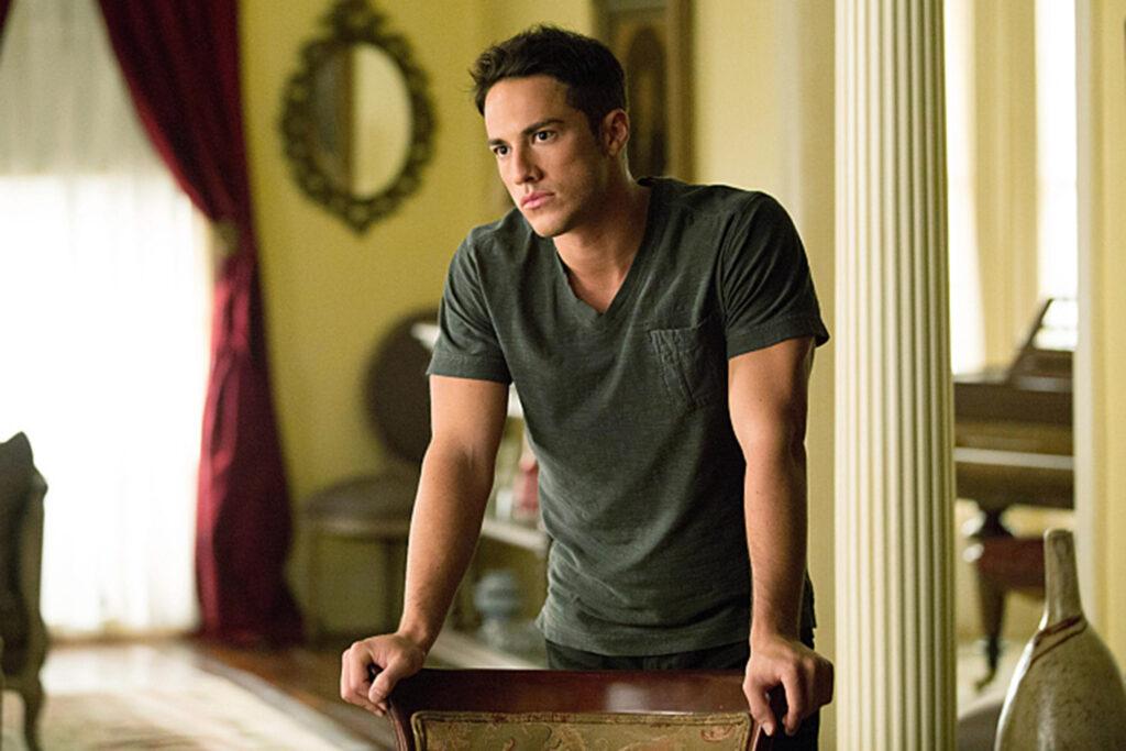 The Vampire Diaries Michael Trevino as Tyler