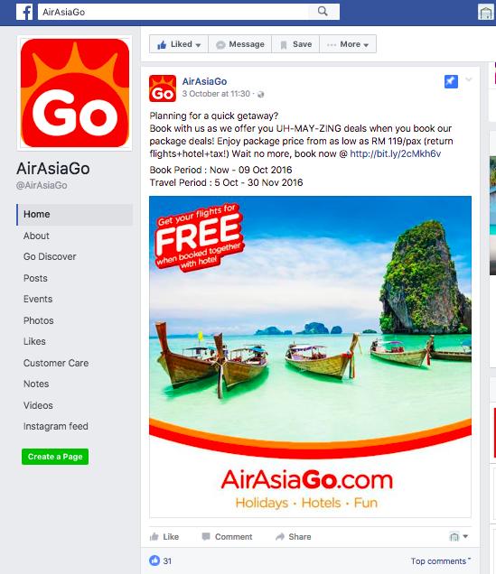 AirAsiaGo Sale