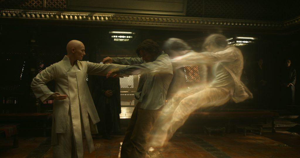 Tilda Swinton Benedict Cumberbatch Doctor Strange