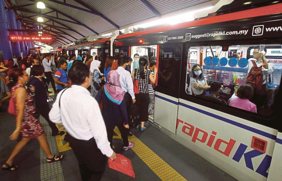Crowded LRT