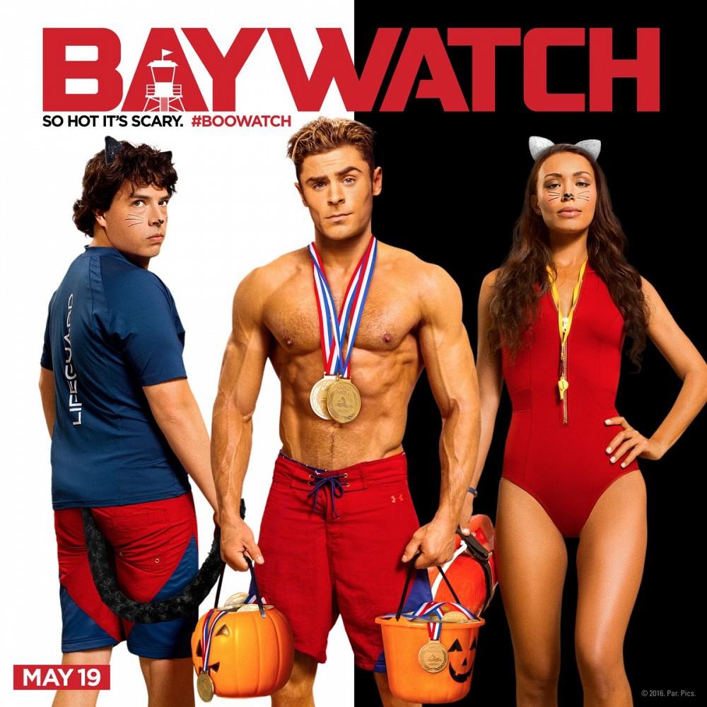 Baywatch-Halloween-Poster-Zac-Efron