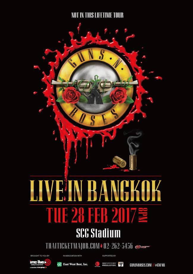 Guns N Roses Bangkok