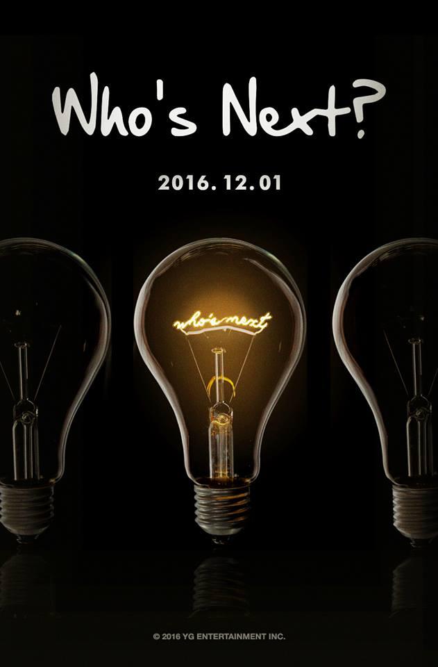 YG Who's Next December 2016