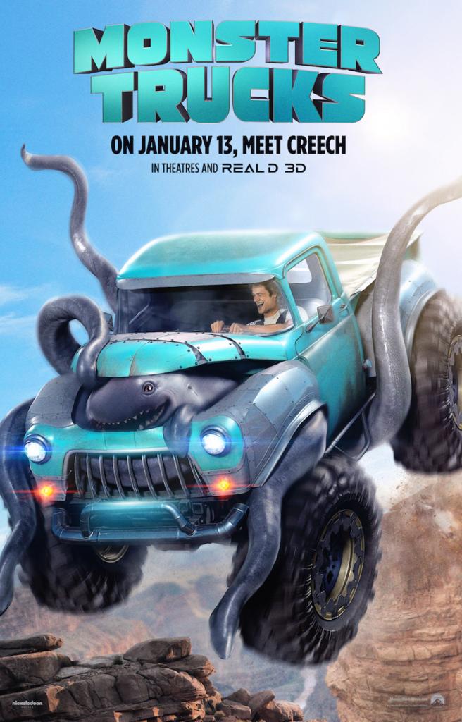 monster truck.
