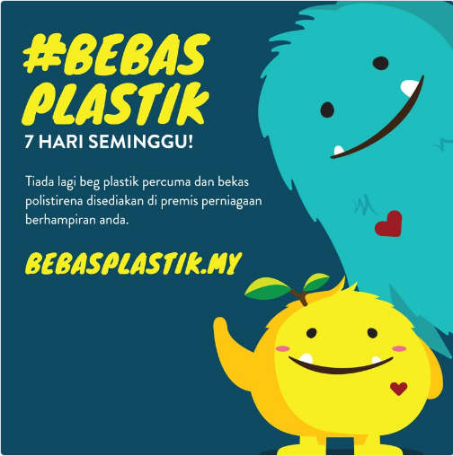 Source: #BebasPlastik