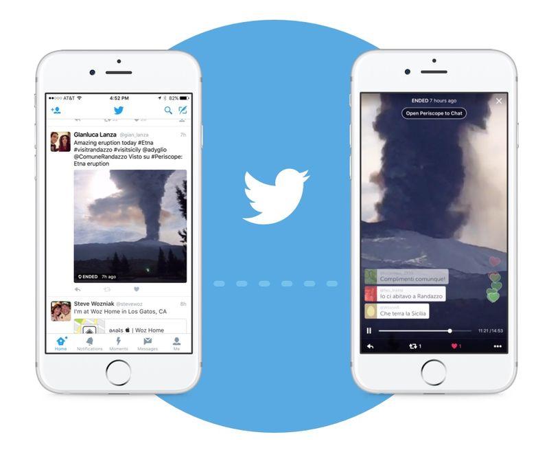 Twitter Live Broadcast