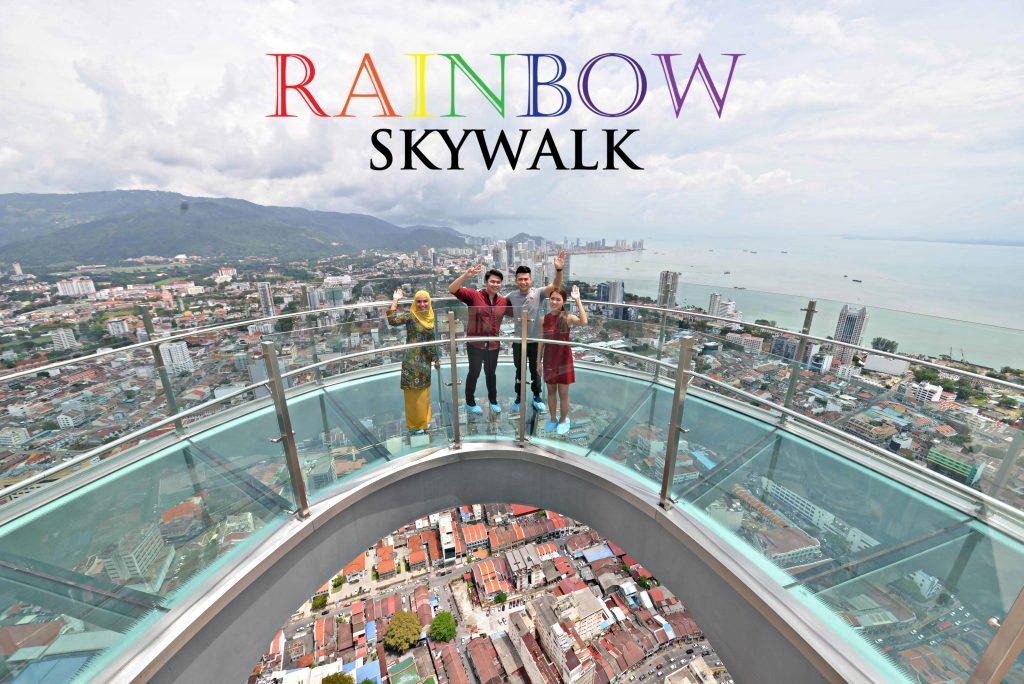 rainbow skywalk the top