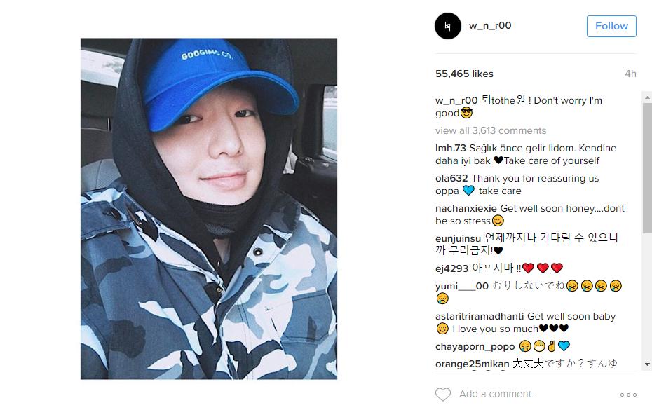Source: Kang Seung Yoon's Instagram