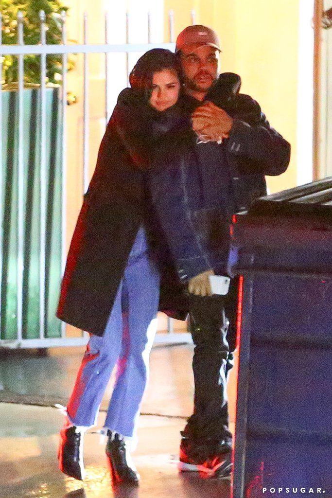 Selena-Gomez-The Weeknd-Kissing