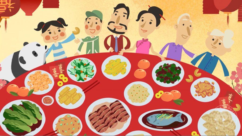 cny cartoon