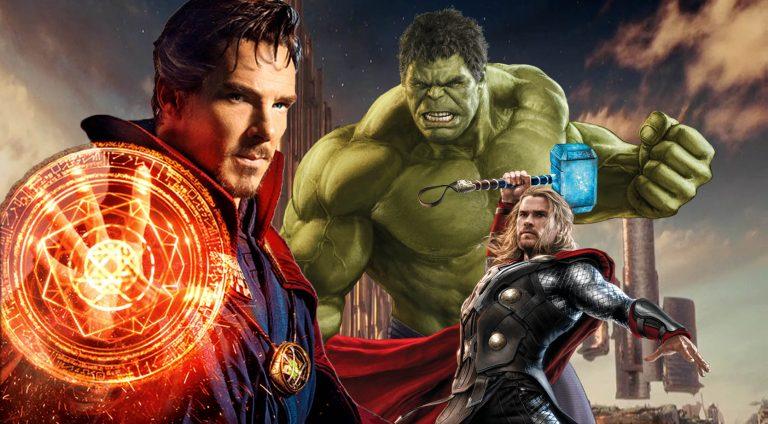 dr strange thor hulk