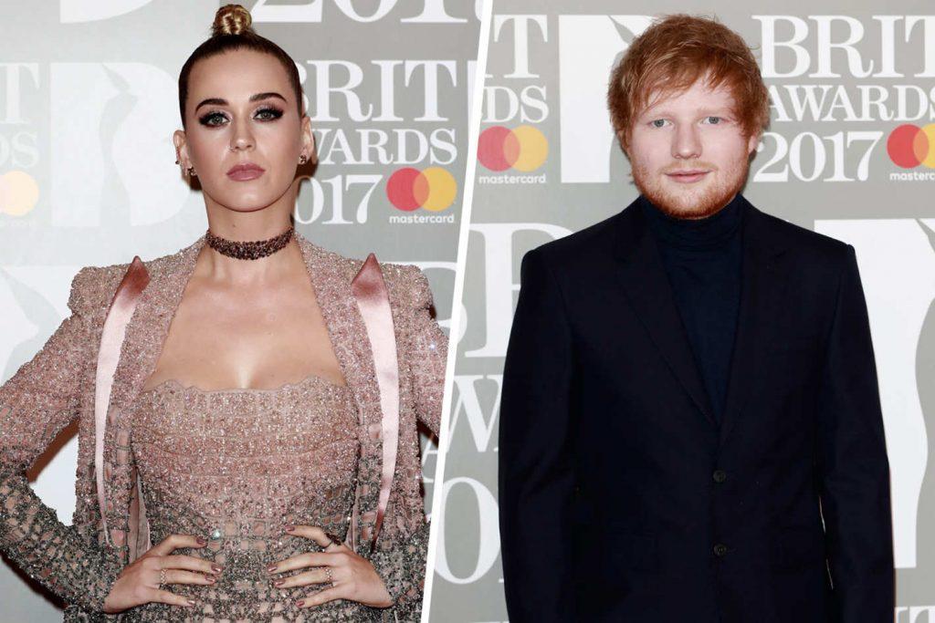 Ed Sheeran Katy Perry