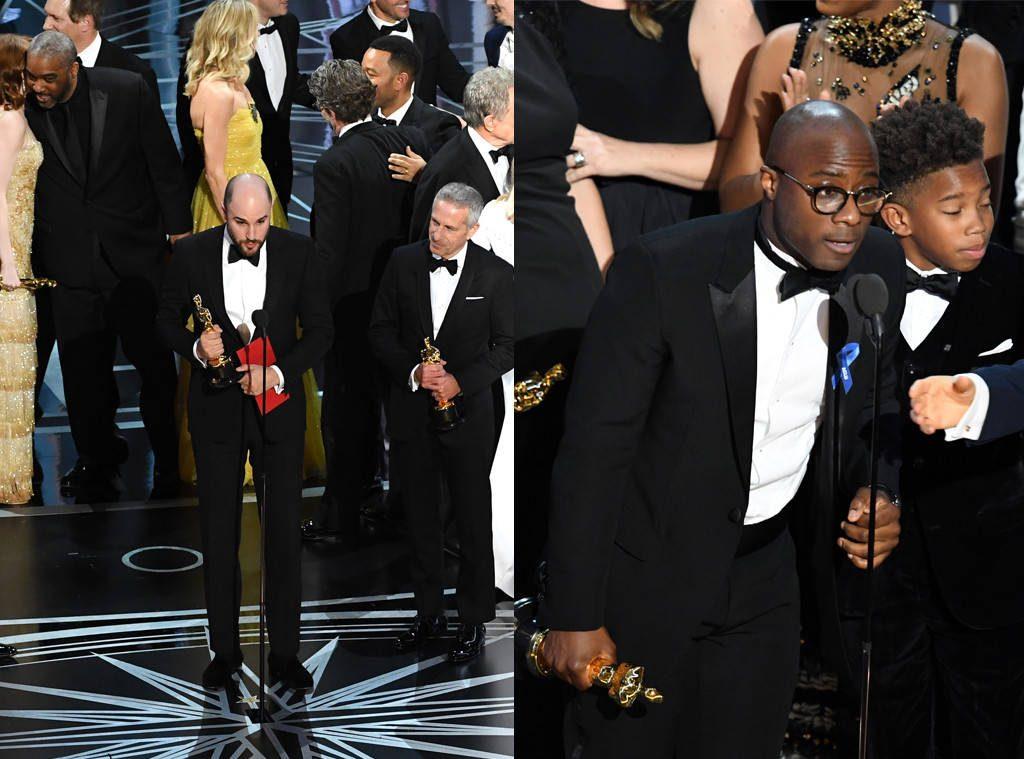 Oscar 2017 La La Land Moonlight